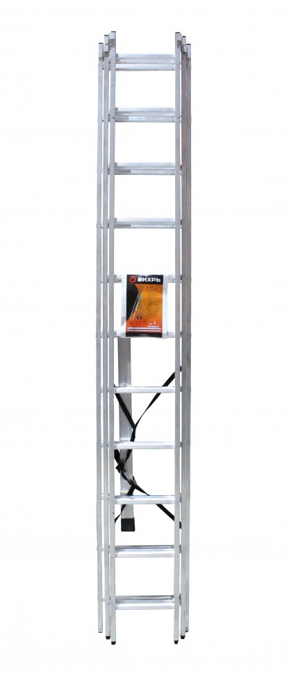 Лестница алюминиевая ВИХРЬ ЛА 3х11 - фото товара