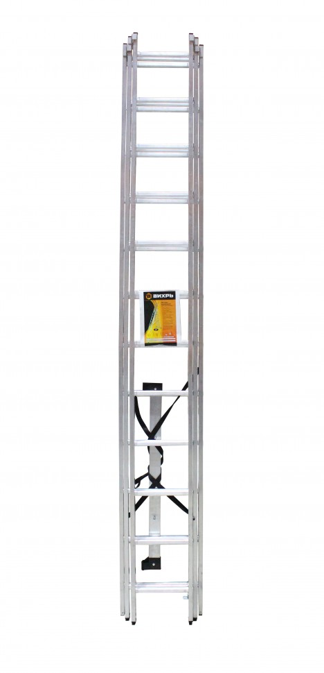 Лестница алюминиевая ВИХРЬ ЛА 3х12 - фото товара