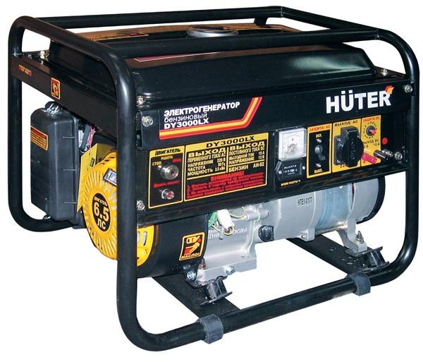 Портативный бензогенератор HUTER DY3000LX - фото товара