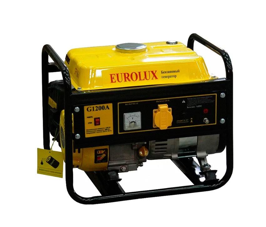 Электрогенератор EUROLUX G1200A - фото товара