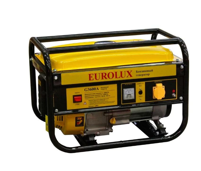 Электрогенератор EUROLUX G3600A - фото товара
