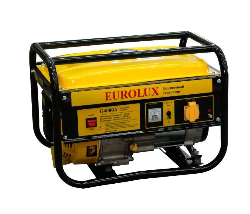 Электрогенератор EUROLUX G4000A - фото товара