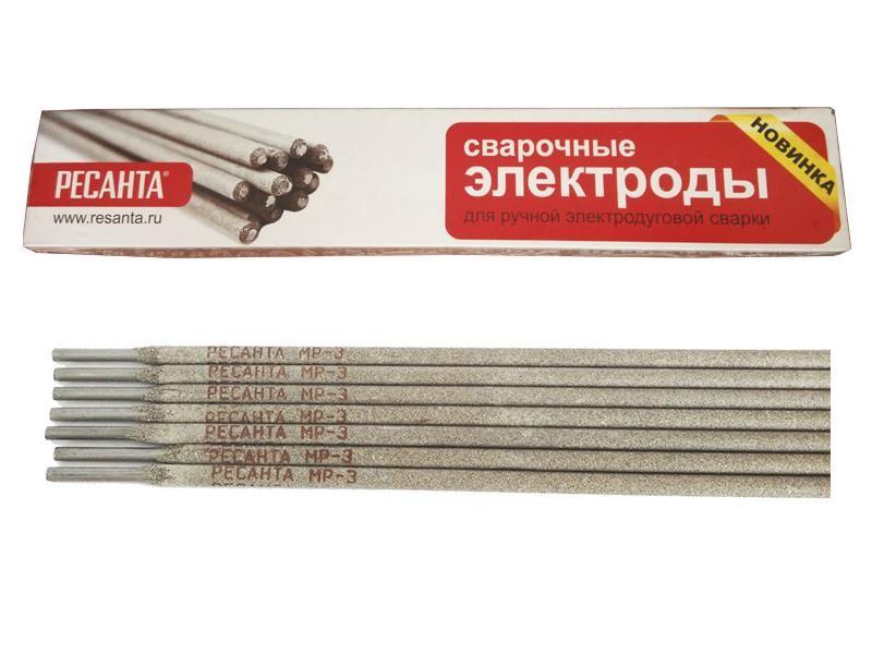 Сварочный электрод РЕСАНТА МР-3 Ф4,0 Пачка 3 кг - фото товара