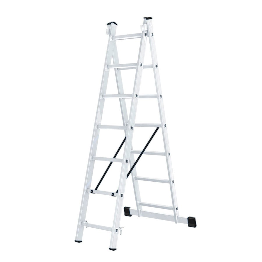 Лестница алюминиевая ВИХРЬ ЛА 2х7 - фото товара