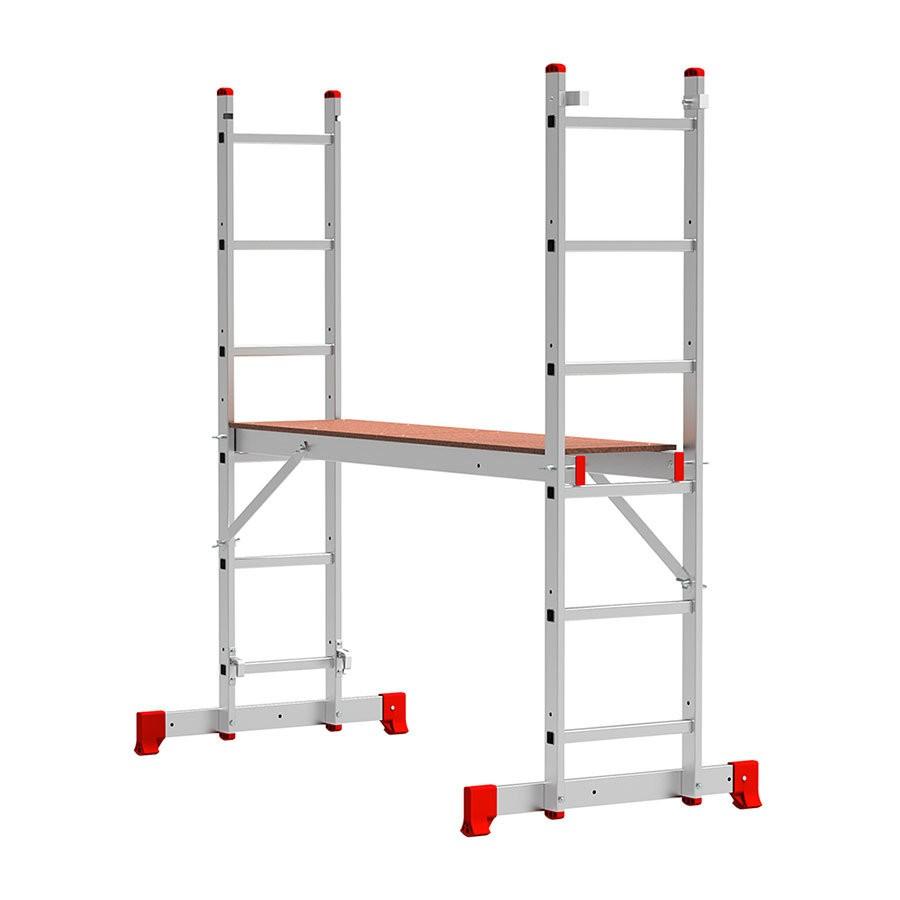 Лестница - помост алюминиевая ВИХРЬ ЛПА 3-У - фото товара